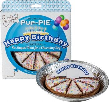 Happy Birthday Pup Pie