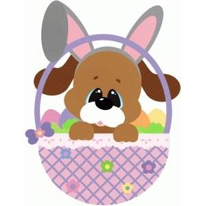 Mystery Easter Basket Lg Dog