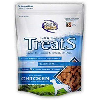 NutriSource Chicken Treats 6oz