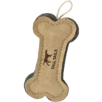 Tall Tails Leather Bone 6