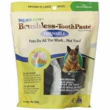 Ark Naturals Brushless-Toothpaste Chewables Medium to Large Dogs