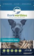 Barkworthies Kangaroo Ribs 5oz