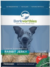 Barkworthies Rabbit Jerky 4oz