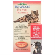 Bio Groom Ear Mite Treatment 1oz bottle