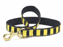 Black Yellow Stripe 6' Lead