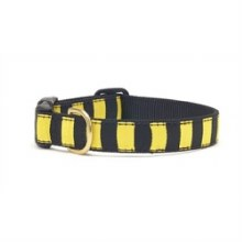 Black Yellow Stripe Lg Collar