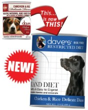 Dave's Restricted Diet Bland Diet Chicken & Rice Delicate Dinner 13.2oz