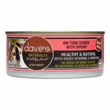 Dave's Grain Free Ahi Tuna & Shrimp 5.5oz