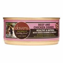 Dave's Grain Free Beef & Chicken Dinner 5.5oz