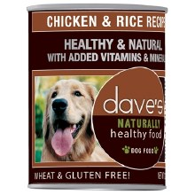 Dave's Healthy & Natural Chicken & Rice Recipe 13oz