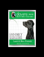 Daves Restrict Bland Lamb