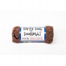 Dog Doormat Brown Medium