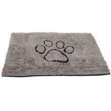 Dog Doormat Grey Medium