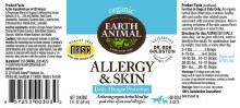 Earth Animal Allergy & Skin
