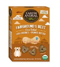 Earth Animal Fairgrounds Best Oven Baked Treats with Coconut & Peanut Butter