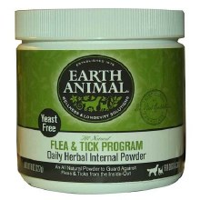 Earth Animal Flea & Tick Daily Herbal Internal Powder 8oz