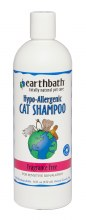 Earthbath Hypo-Allergenic Cat Shampoo Fragrance Free 16oz