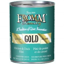 Fromm Gold Chicken & Duck Pate 12.2oz