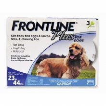 Frontline Plus 3 doses 23-44# Dog