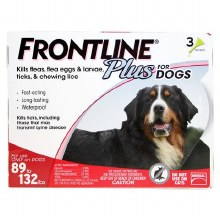 Frontline Plus 89-132# Dog