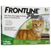 Frontline Plus 3 doses Cat