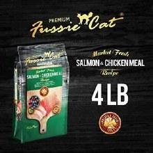 Fussie Cat Chicken & Salmon 4#