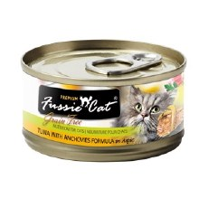 Fussie Cat Tuna Anchovy 5.5oz