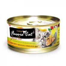 Fussie Cat Tuna with Anchovies in Aspic 2.82oz