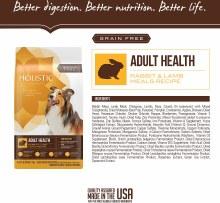 Holistic Select Grain-Free Rabbit & Lamb 24#