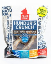 Plato Hunder's Crunch Capelin Treats 5oz