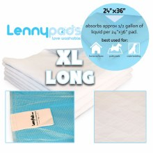 Lenny Pads X-large Long
