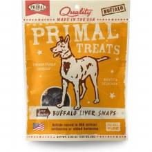 Primal Buffalo Liver Snaps 4.25oz