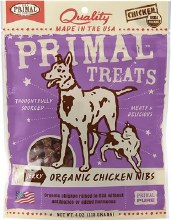 Primal Organic Chicken Nibs 4oz