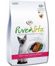 Pure Vita Gf Cat Salmon & Pea