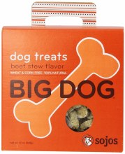 Sojo's Beef Stew Big Dog Treats 12oz