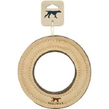 Tall Tails Leather Ring 7""