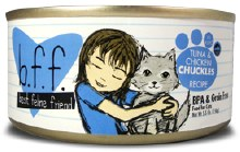 b.f.f. Tuna & Chicken CHUCKLES in Aspic 5.5oz
