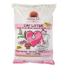 Weruva Cat Litter with Hinoki Wood & Green Tea