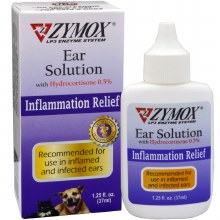 Zymox Ear Solution .5% Hc