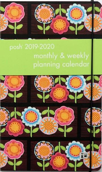 Posh Flower Power Diary 2019-2020