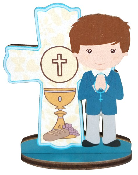 Boy First Holy Communion Blessings Cross