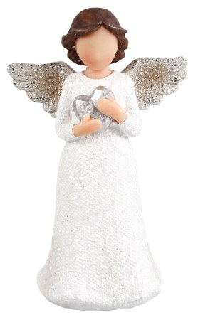 Angel with Heart 12 cm