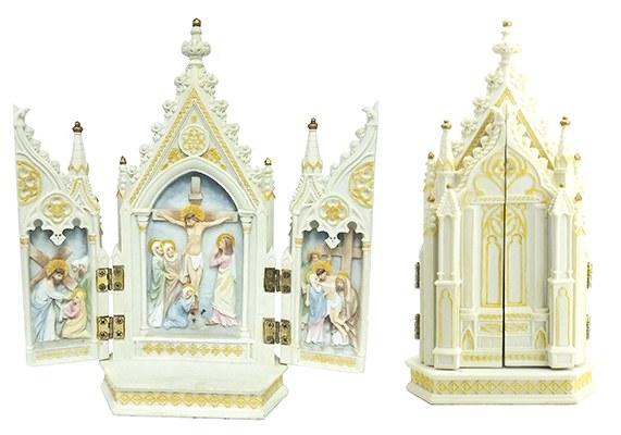 The Crucifxion Triptych Veronese Piece