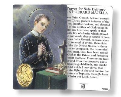 St Gerard Prayer Leaflet