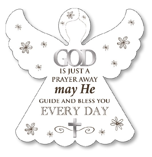 Every Day Angel Wooden Plaque