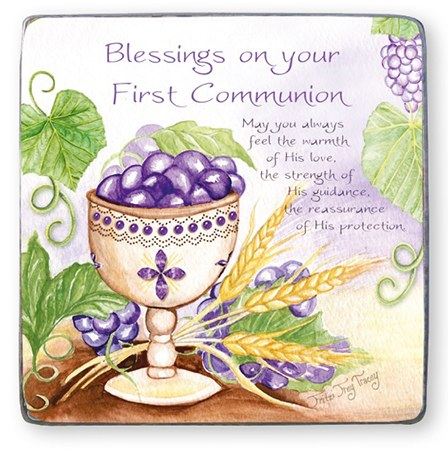 Blessings on your First Holy Communion Art