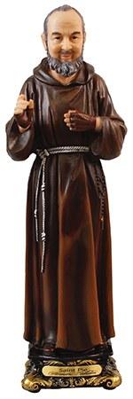 Florentine St Pio Statue (30cm )