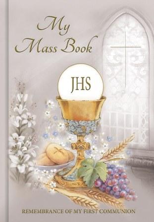 Symbolic First Holy Communion Mass Book