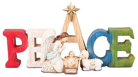 Peace Angel Nativity (15cm)