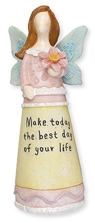 3940 Make Today Message Angel 15cm